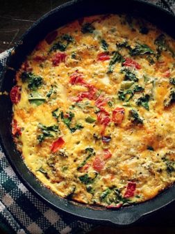 Light Vegetable Quiche