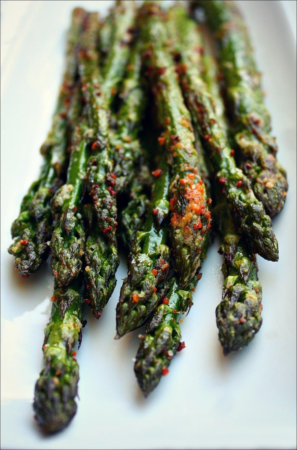 asparagus heads