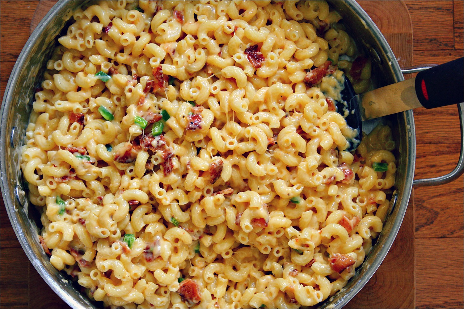 bacon jalapeno mac and cheese