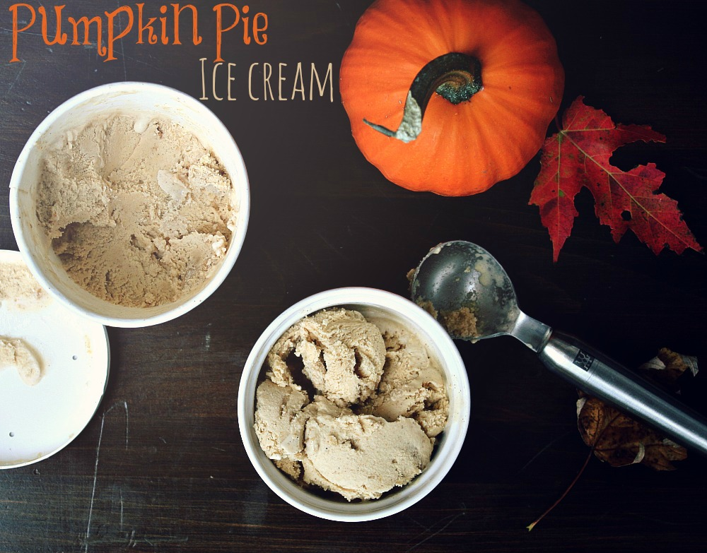 pumpkin pie ice cream header