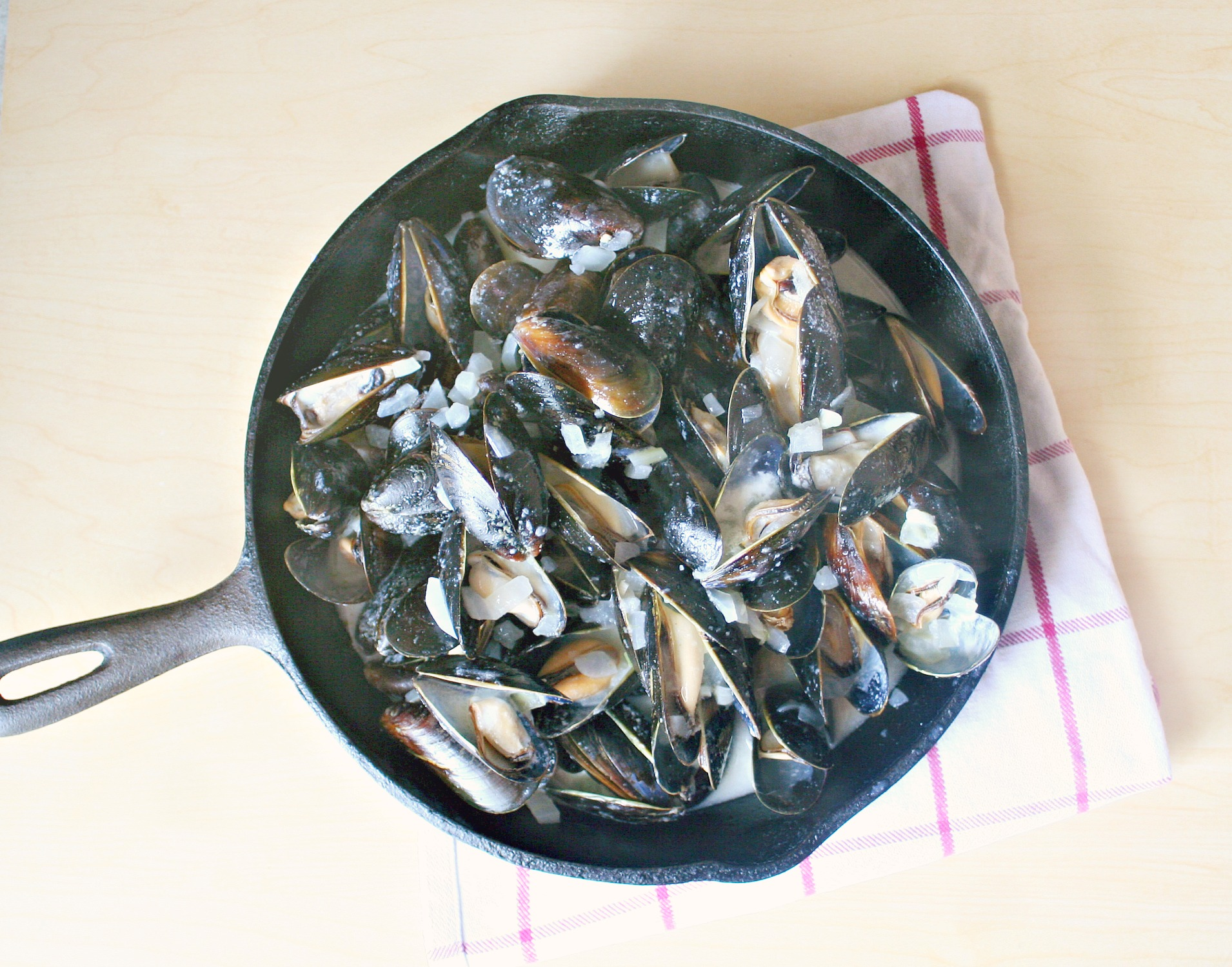 coconut ginger mussels 4