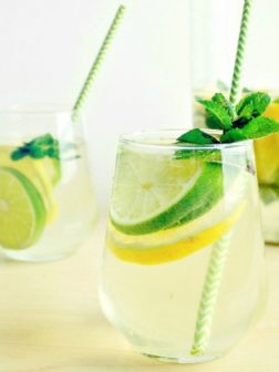 Minty Lime and Pineapple Sangria