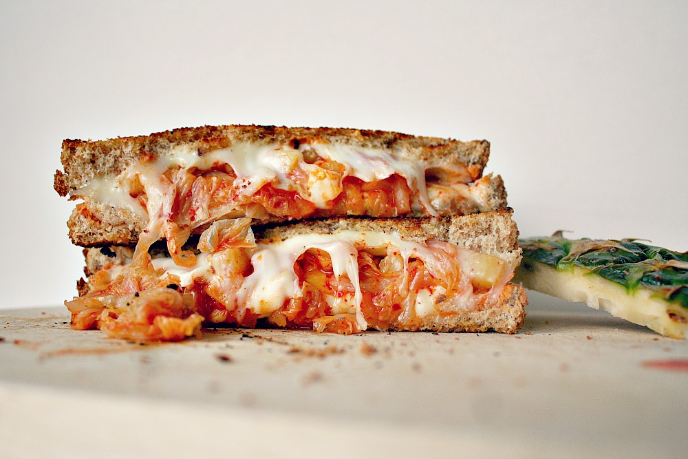 kimchi grilled cheese 2
