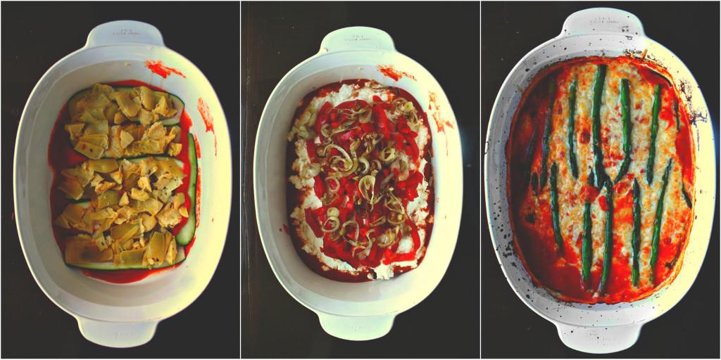 no noodle veggie lasagna full
