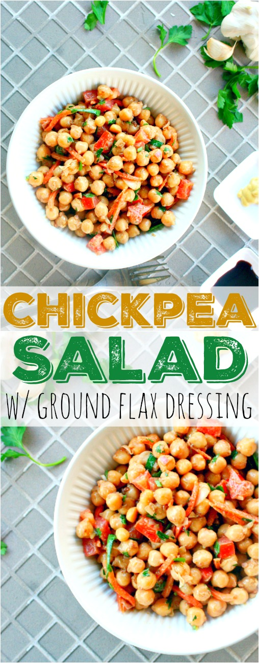 Chickpea Salad Pinterest