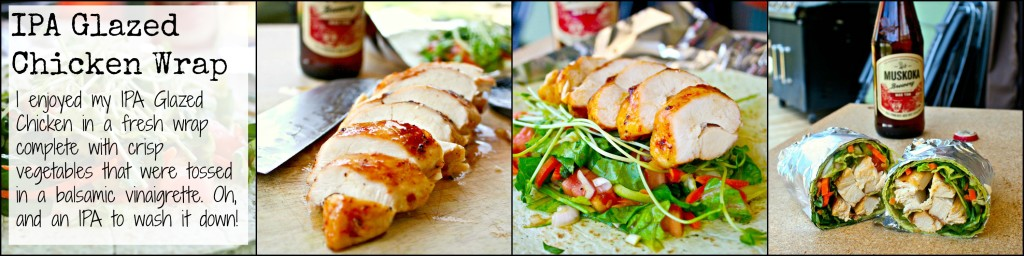 IPA Glazed Chicken Wrap