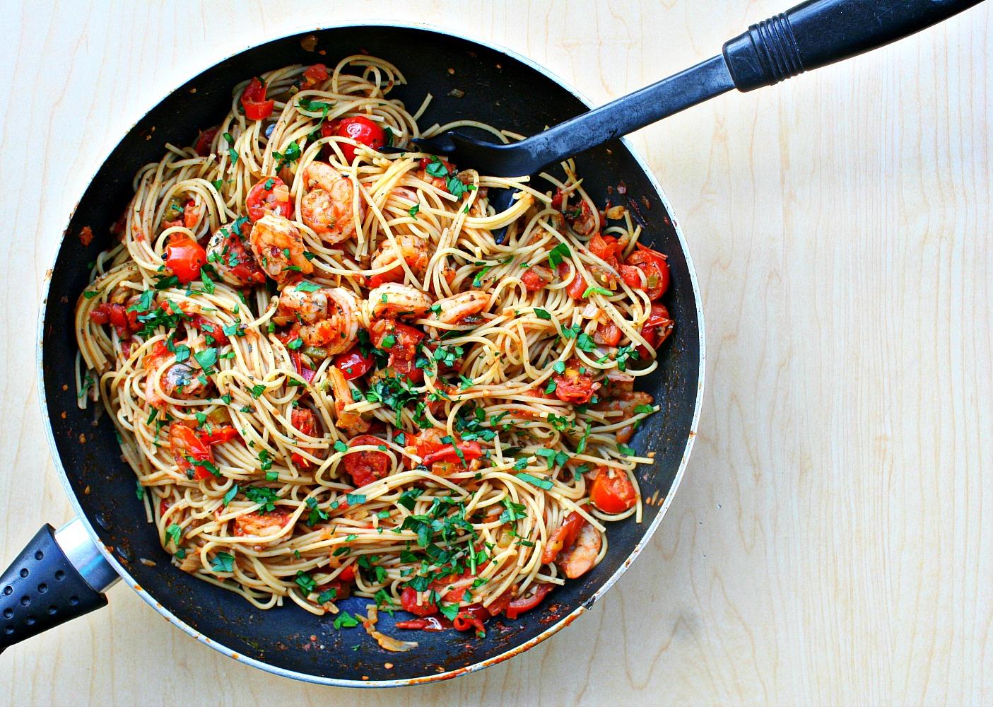 spicy-cajun-shrimp-pasta