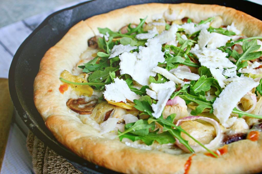 Skillet Pizza 2