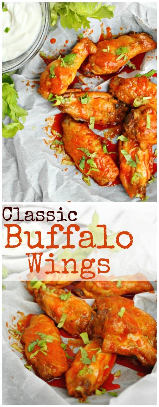 Classic Buffalo Wings Pinterest