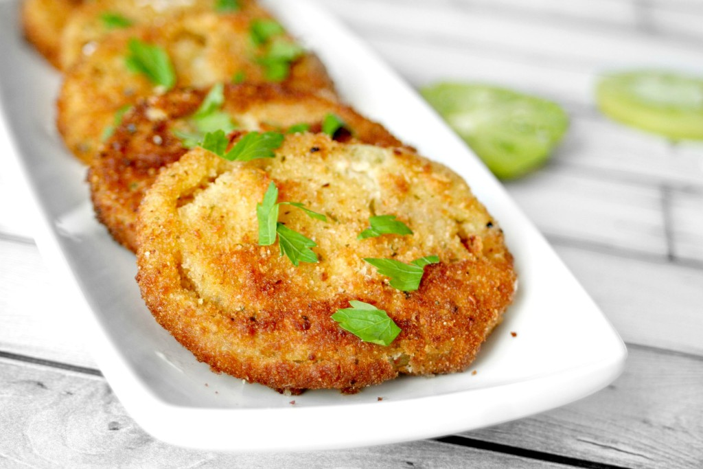 Easy Fried Green Tomatoes 2