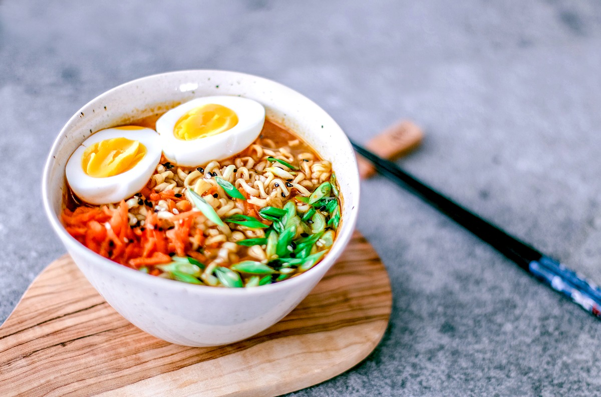 Easy Homemade Ramen Bowl