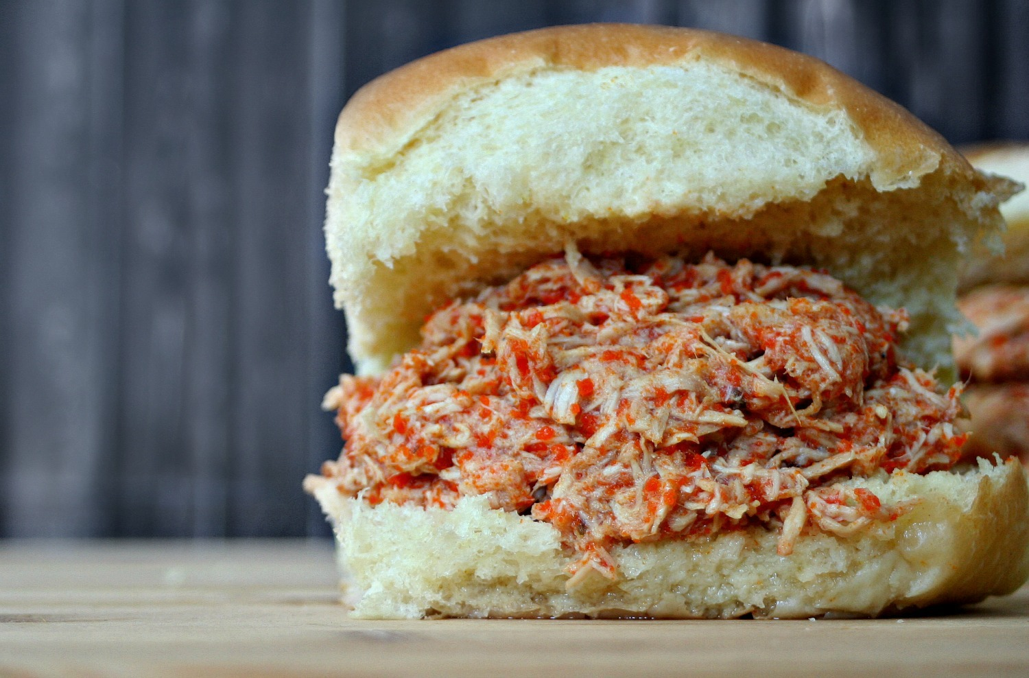 Slow Cooker Pulled Buffalo Chicken Sandwiches - Killing Thyme