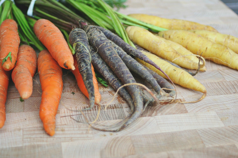Rainbow Carrots 2