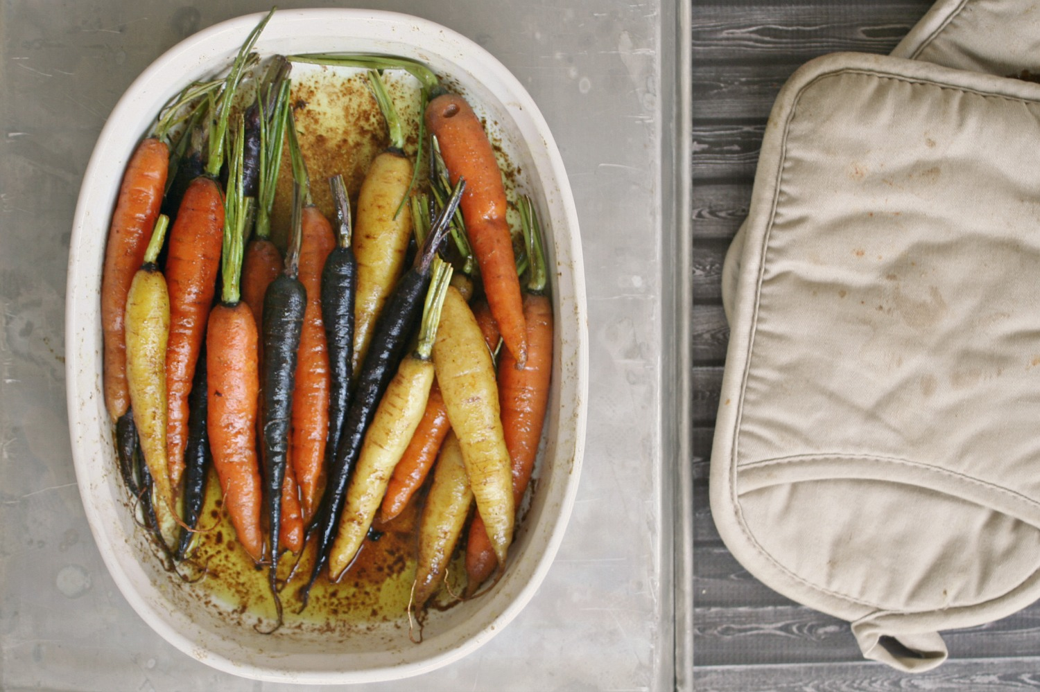 Rainbow Carrots with Sweet Curry Butter 3