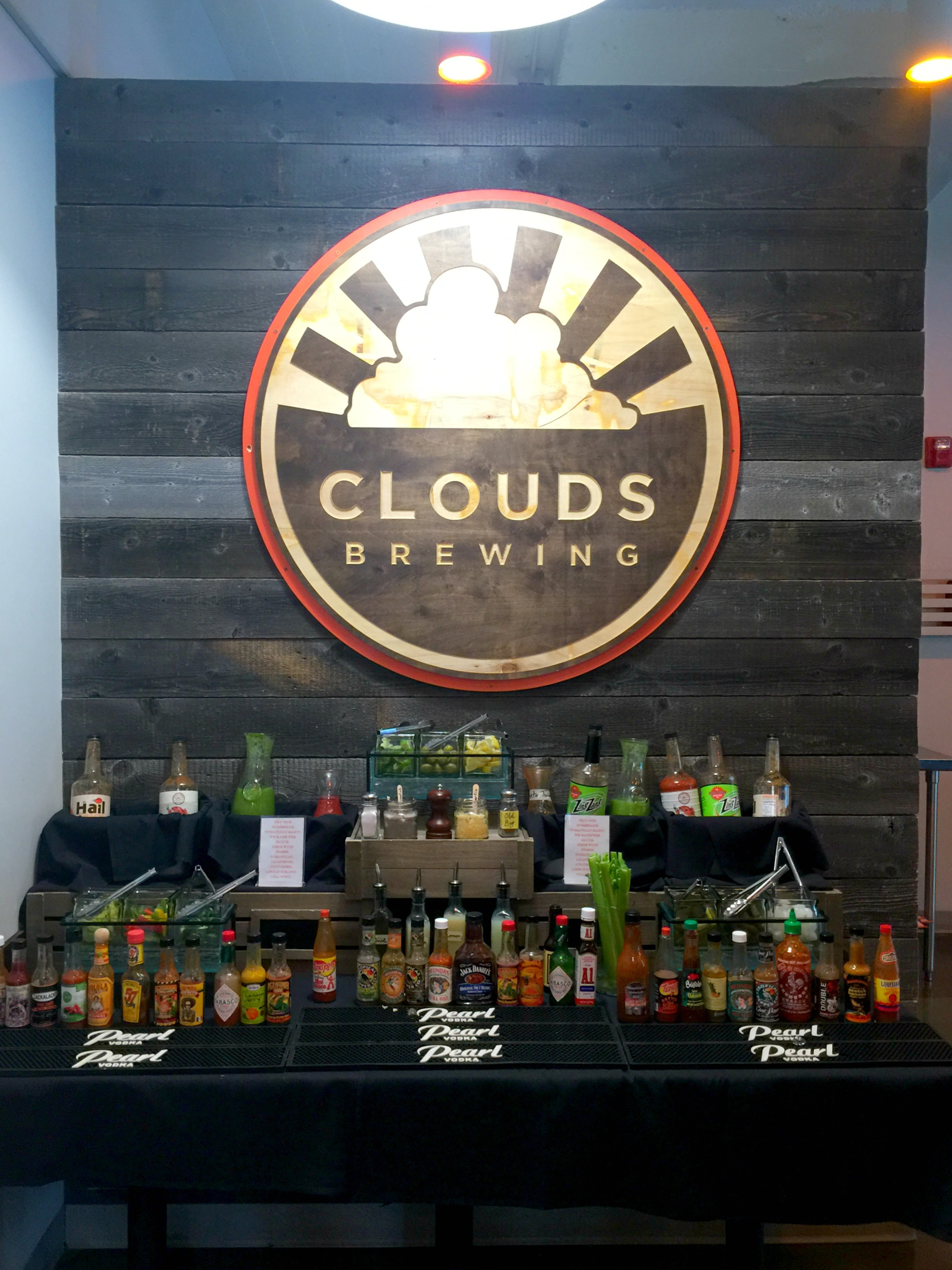 Clouds Bloody Mary Bar