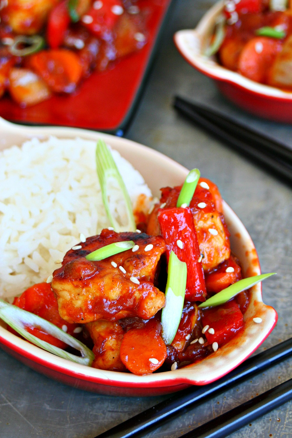 Sweet and Sour Chicken 3
