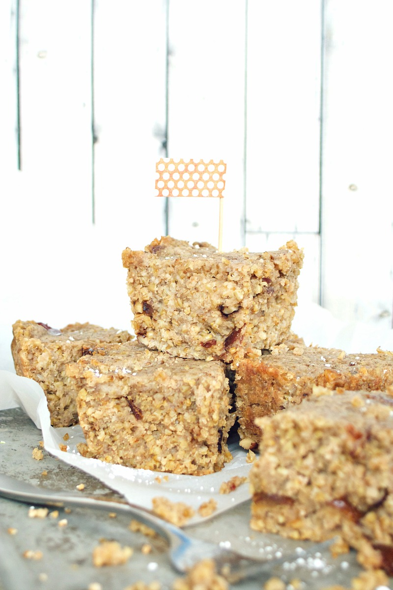 Steel-cut Oat and Date Breakfast Cake 3
