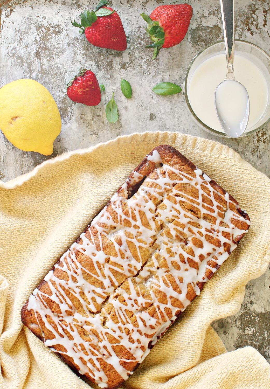 Strawberry Banana Bread 1