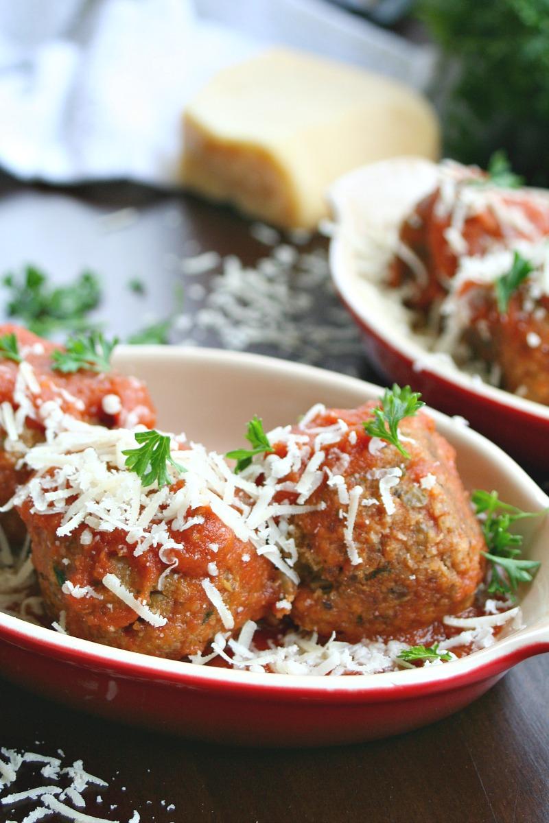Vegetarian Italian Meatballs 5