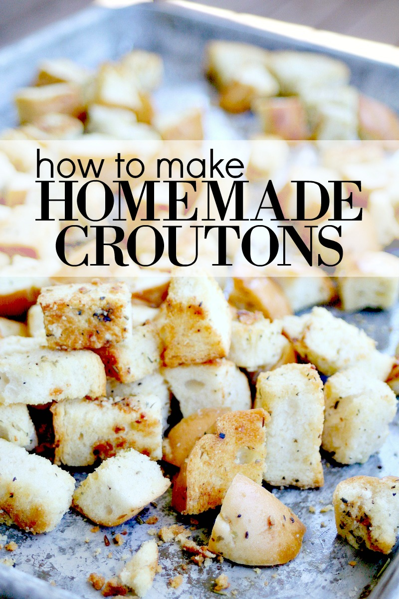 Homemade Croutons 2