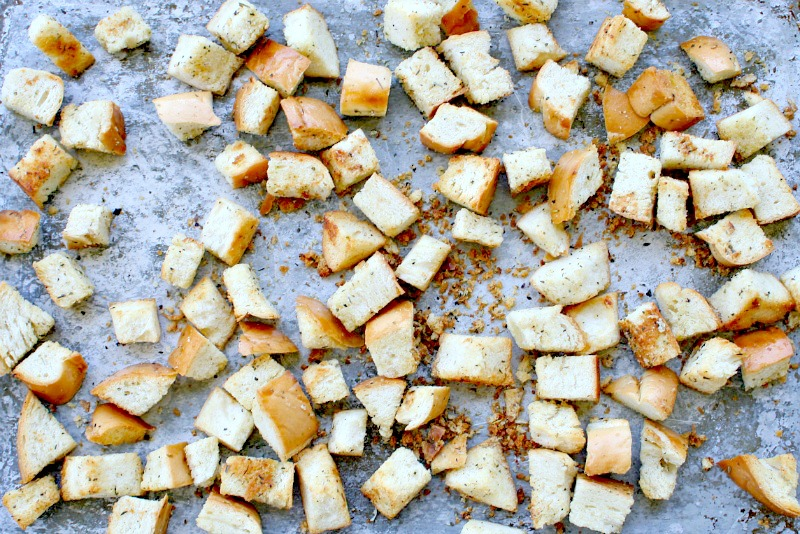 Homemade Croutons 3