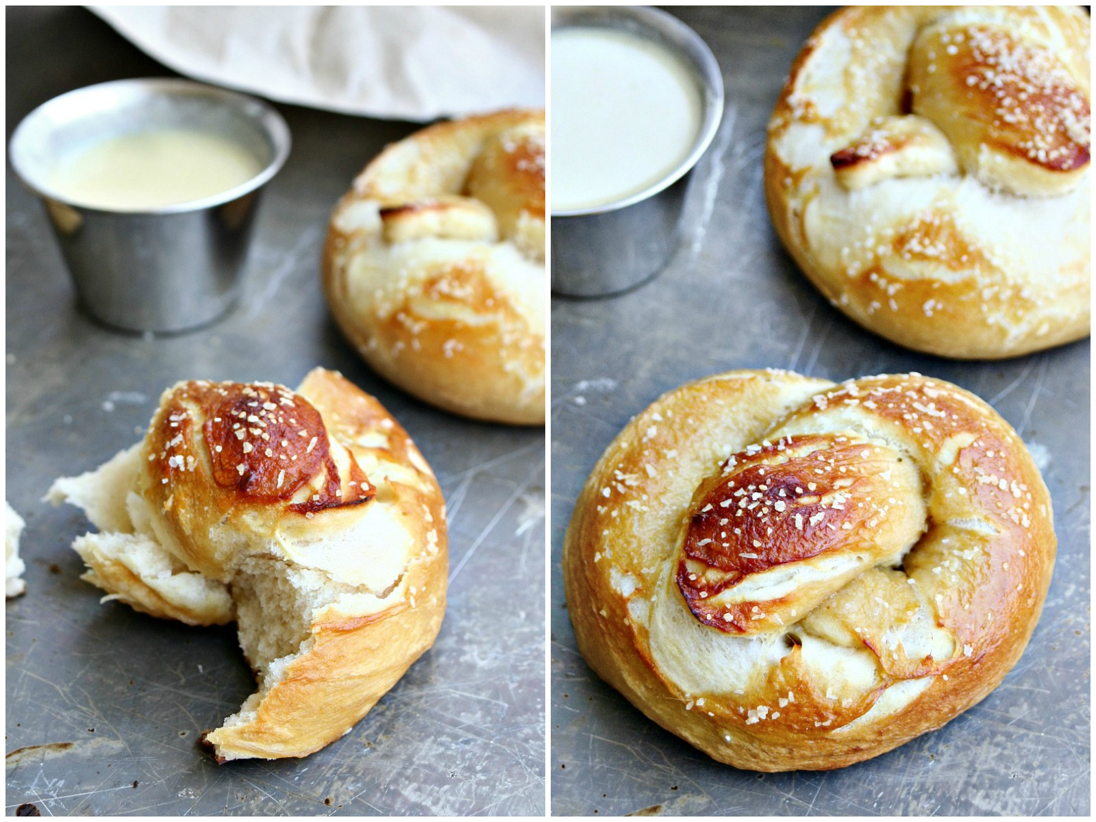 Beer Pretzel Collage