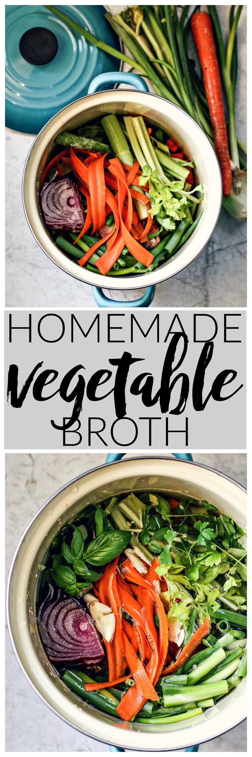 Homemade Vegetable Broth | Killing Thyme