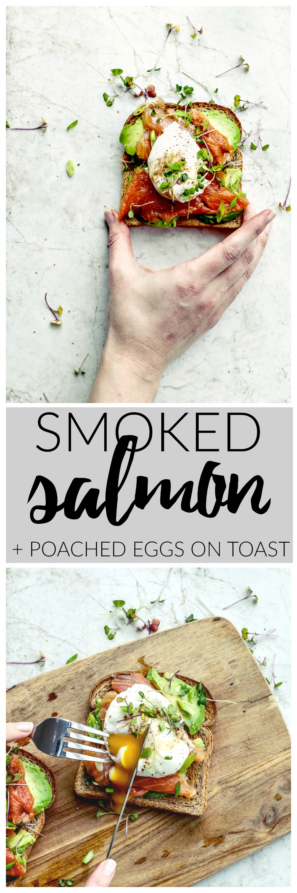 Smoked Salmon With Poached Eggs on Toast | Killing Thyme