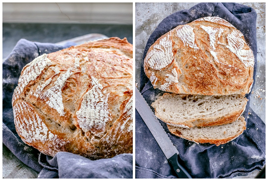 Easy Homemade Dutch Oven Bread | Killing Thyme