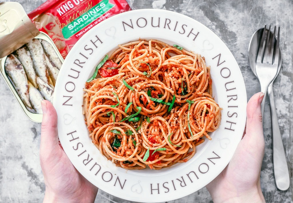 Five ingredient weeknight pasta with sardines and tomatoes for Do all fish have mercury