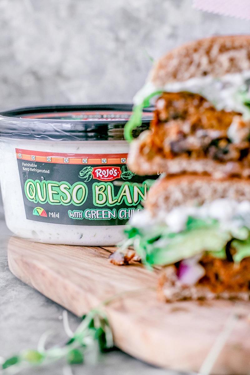 Southwestern Sweet Potato Quinoa Burger | Killing Thyme
