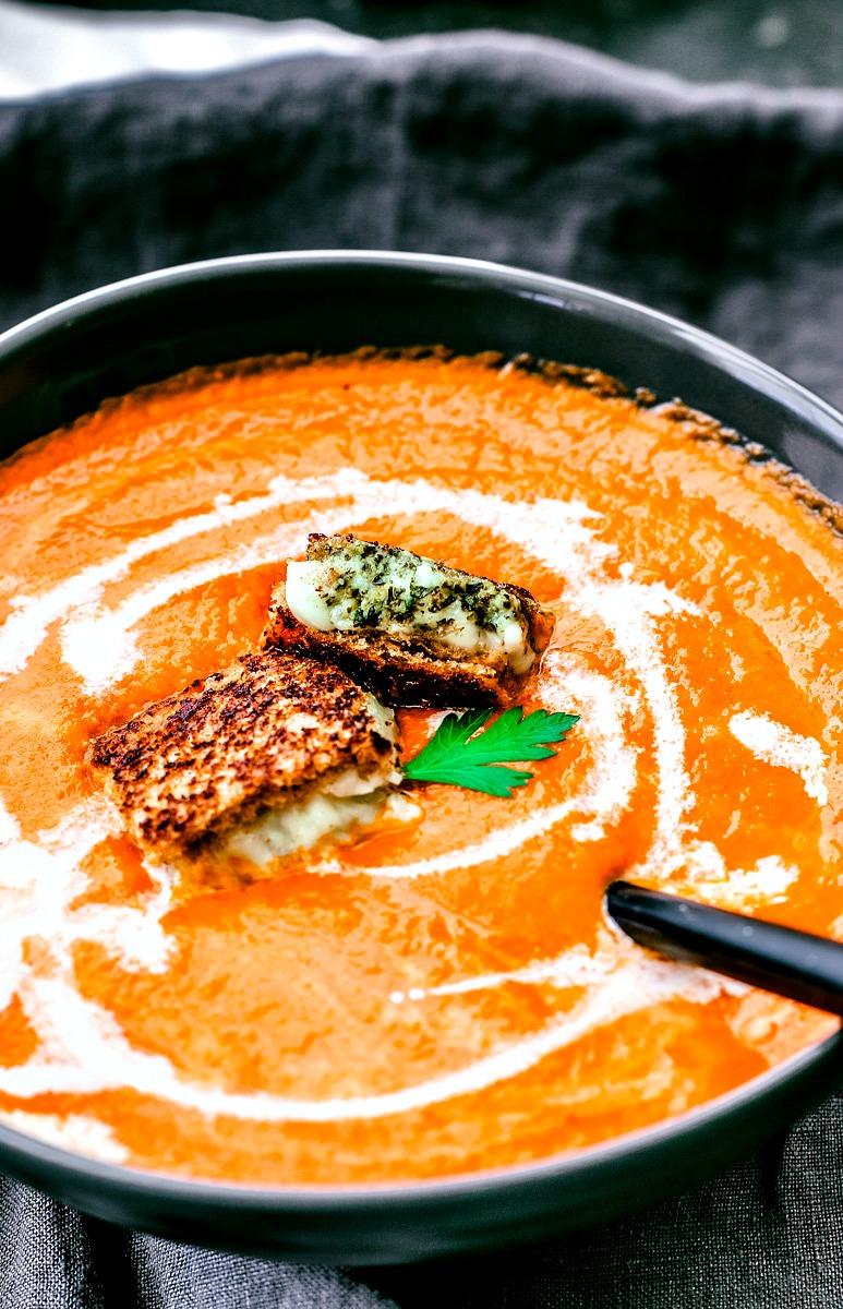 Classic Tomato Soup | Killing Thyme