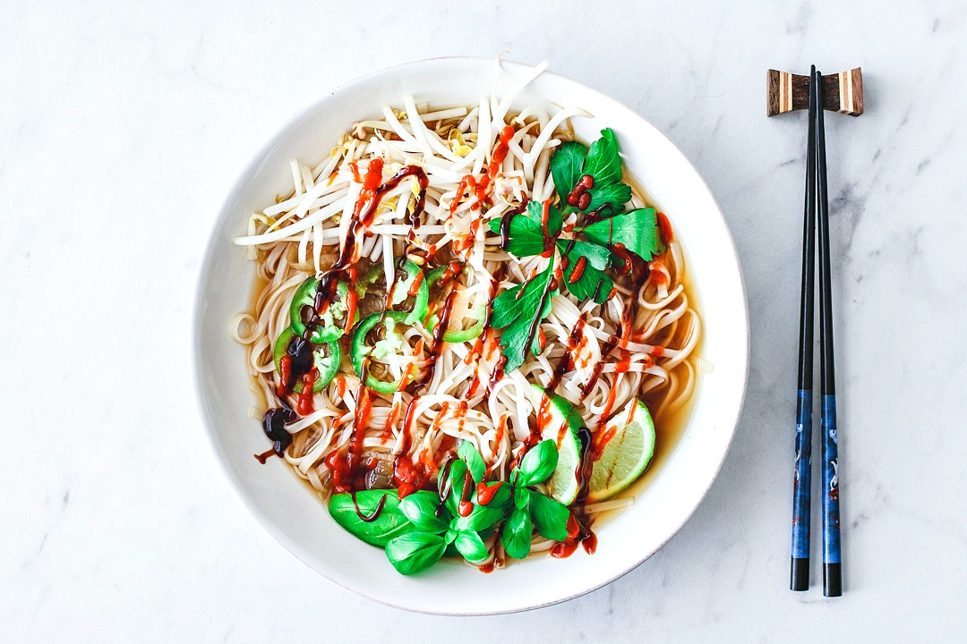 Quick and Easy Vegetarian Pho | Killing Thyme