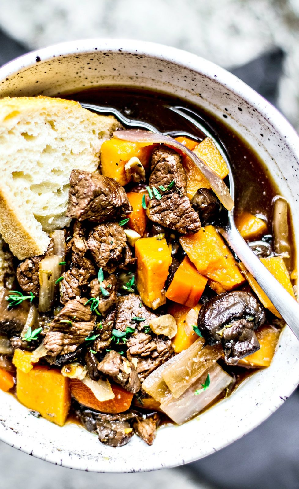 Slow Cooker Beef Stew With Red Wine Killing Thyme