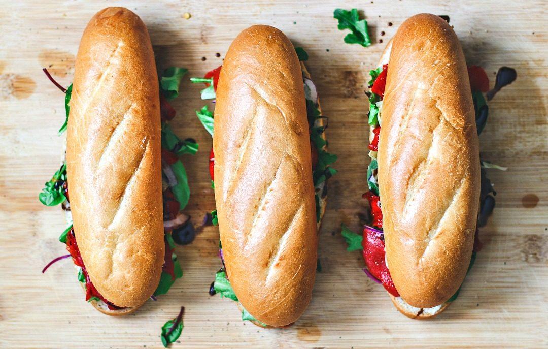 Italian Antipasto Sandwiches.