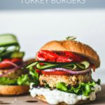 Tender Greek Turkey Burgers