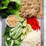 Instant Pot Ginger Chicken Lettuce Wraps.