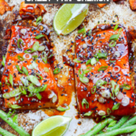 Hoisin-Glazed Salmon {Sheet Pan Salmon}