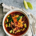 Super Cozy Chicken Tortilla Soup.