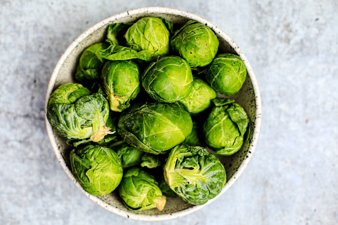 Bowl of Brussels Sprouts.