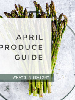 What's In Season? April Produce Guide.