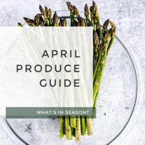 April Produce Guide title photo.