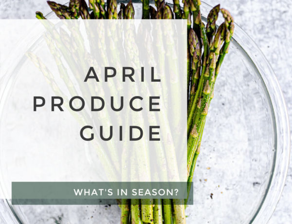 April Produce Guide title photo.