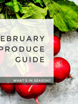 What's In Season? February Produce Guide.