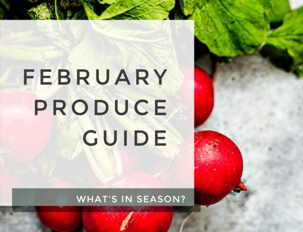 February Produce Guide title photo.