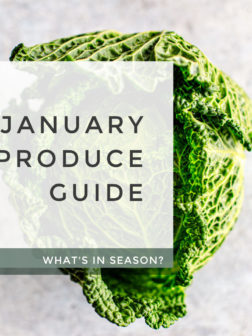 What's In Season? January Produce Guide
