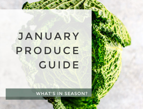 January Produce Guide title photo.