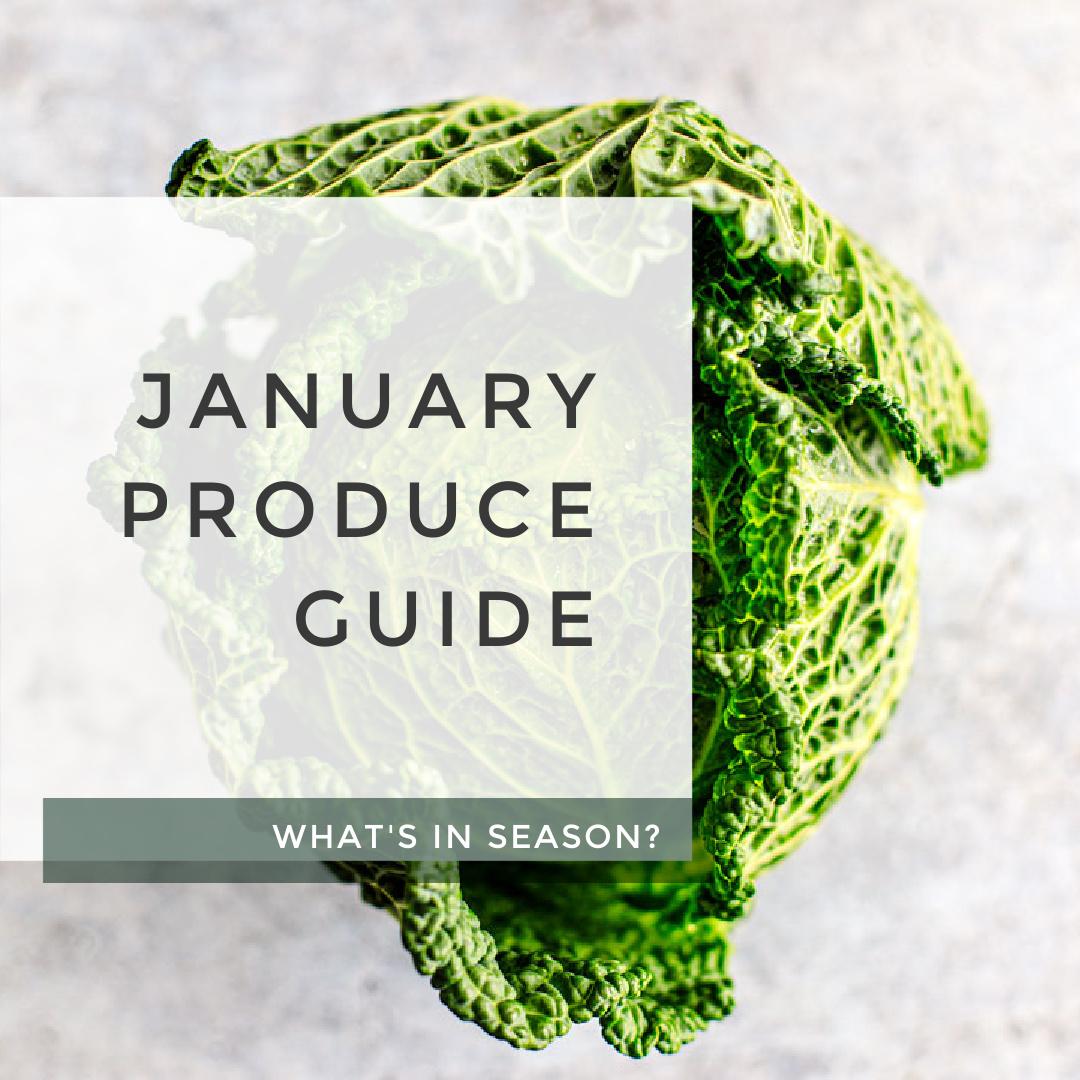 January Produce Guide title photo.