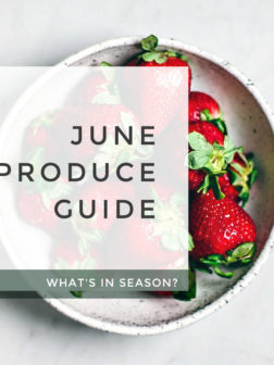 What's in Season? June Produce Guide.
