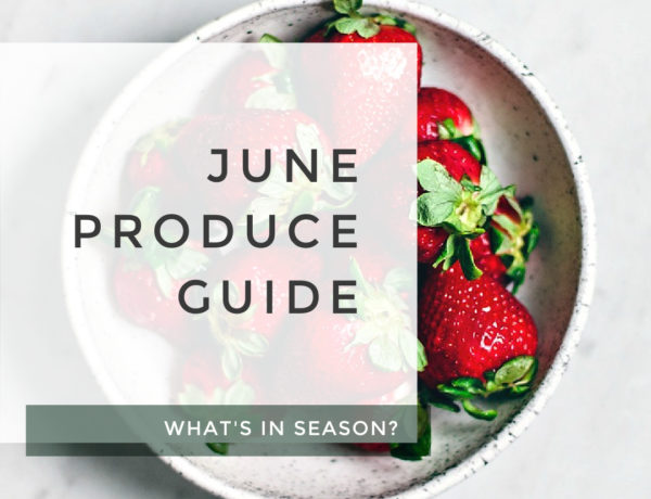 June Produce Guide title photo.